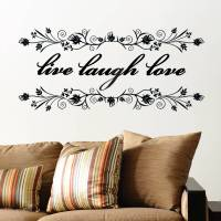 Live Laugh Love Wall Decal - talentneeds.com