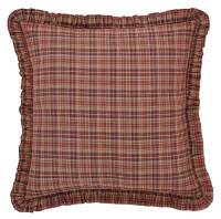 Fabric Euro Pillow Sham in Red - Walmart.com
