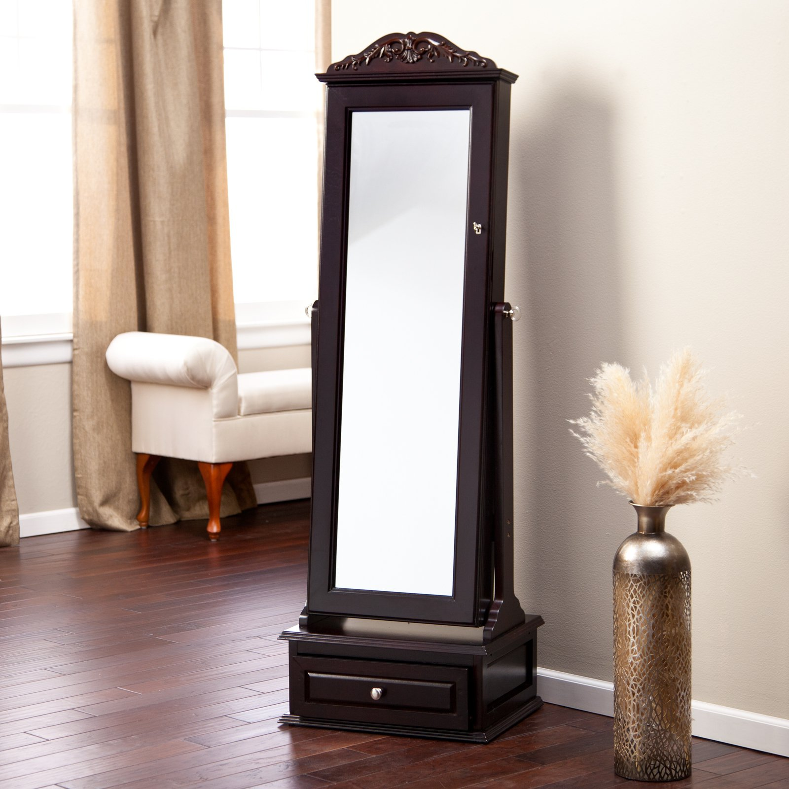 Cheval Mirror Jewelry Armoire Plans