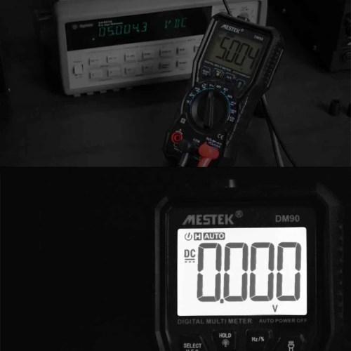 small resolution of mestek dm90 mini digital multimeter auto range ac dc voltage current frequency capacitance ncv multi meter tester walmart com