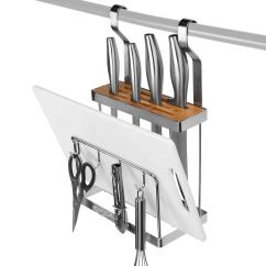 Kitchen Utensil Rack Outdoor Plans Pdf Knife Bar Wall Mounted Holder Sortwise