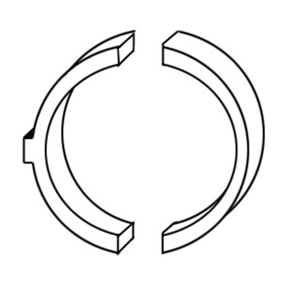 A62573 New Thrust Washer Set Made to fit Case-IH Tractor