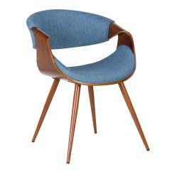 Mid Century Dining Chairs Back Support Office South Africa Armen Living Butterfly Chair In Walnut Wood And Fabric