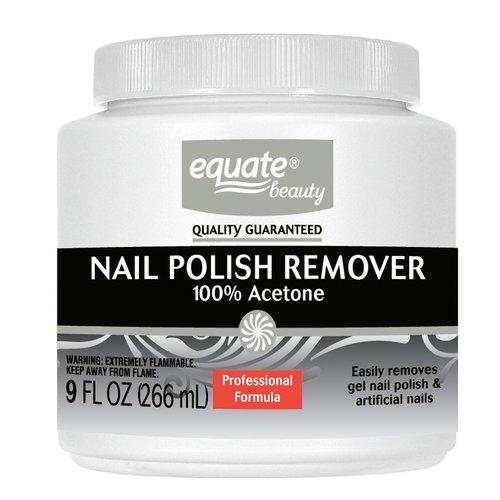 equate beauty 100 acetone nail