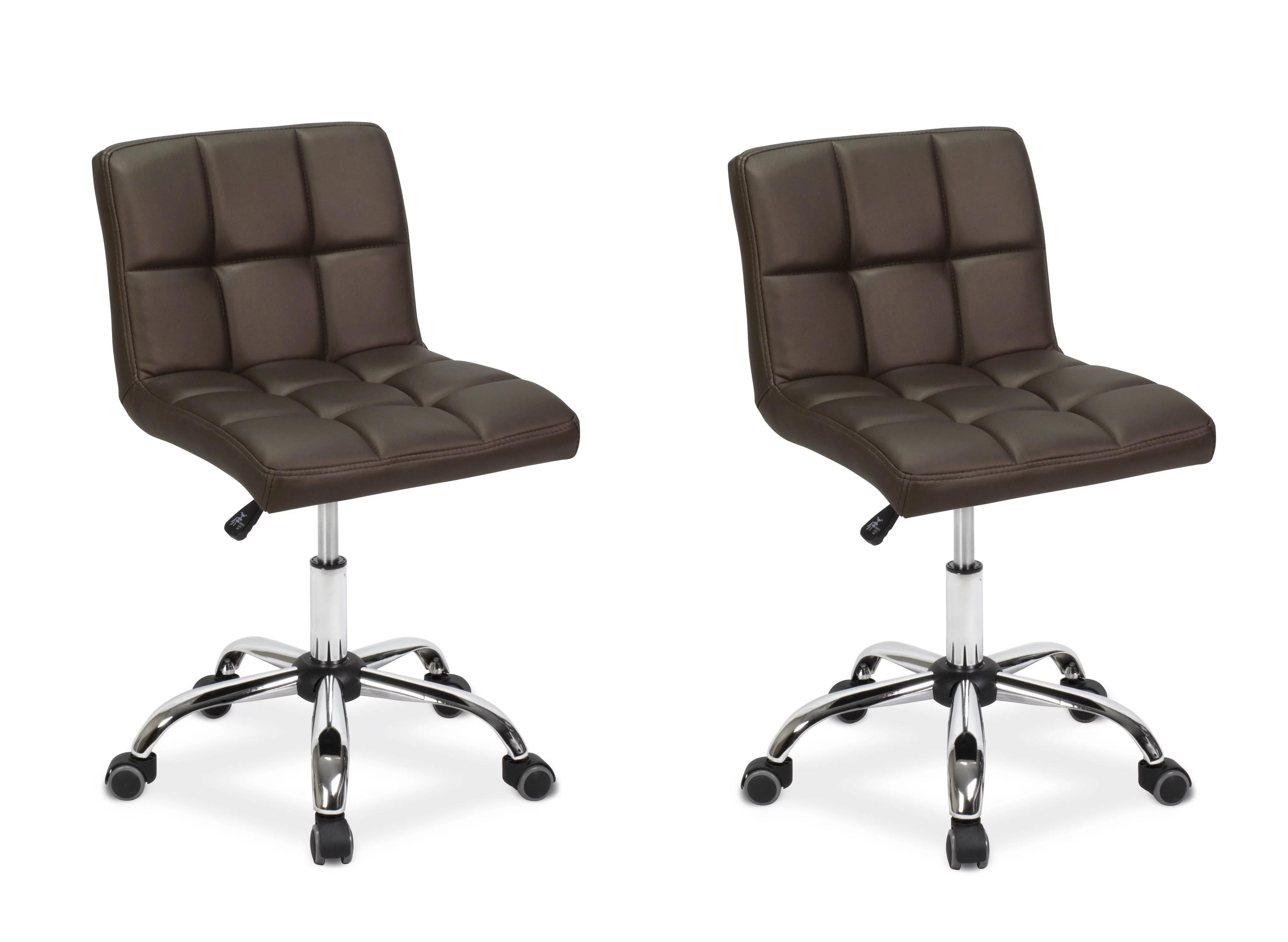 Esthetician Chair Technician Stool 2 TOTO COFFEE Pneumatic