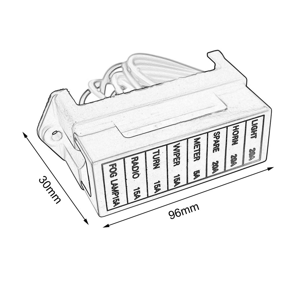 medium resolution of fuse box clip art