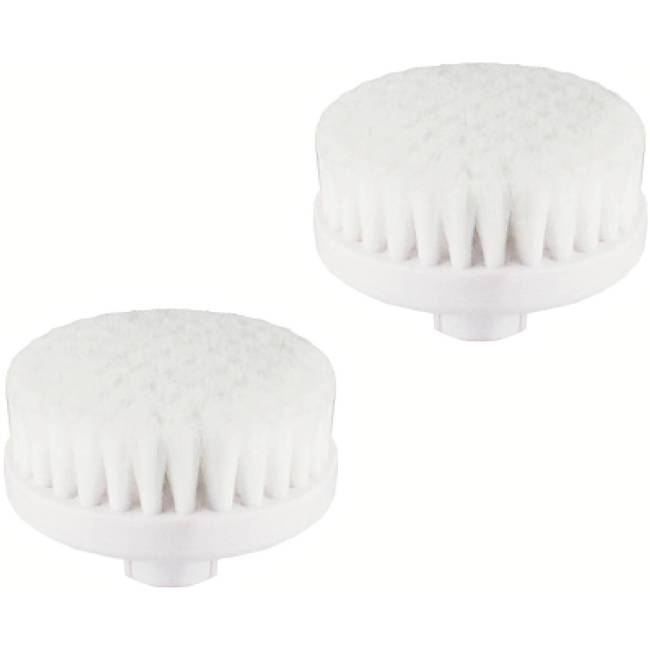 Vanity Planet Spin for Perfect Skin Replacement Cleansing Brush Heads, 2 count
