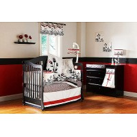 Organic Twilight Garden 6-Piece Crib Bedding Set - Walmart.com