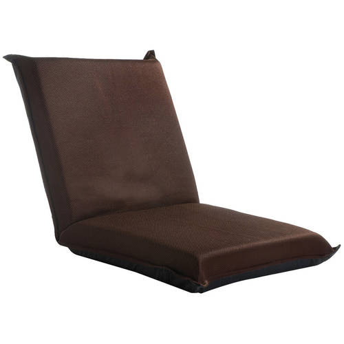 foldable cushion chair kidkraft table and sets merax multi function folding floor brown walmart com