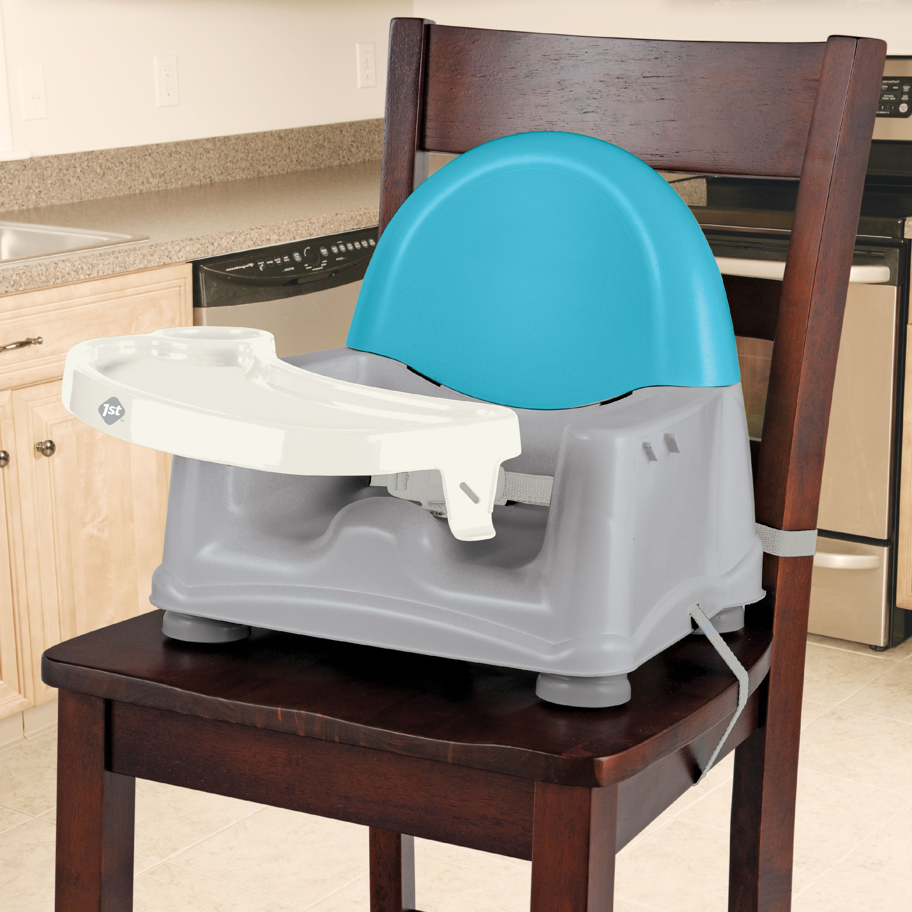Baby Floor Seat Feeding Tray Booster Chair Safety 1st