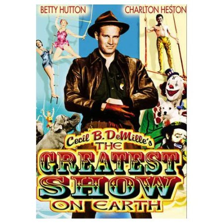 Image result for the greatest show on earth 1952 MOVIE POSTER