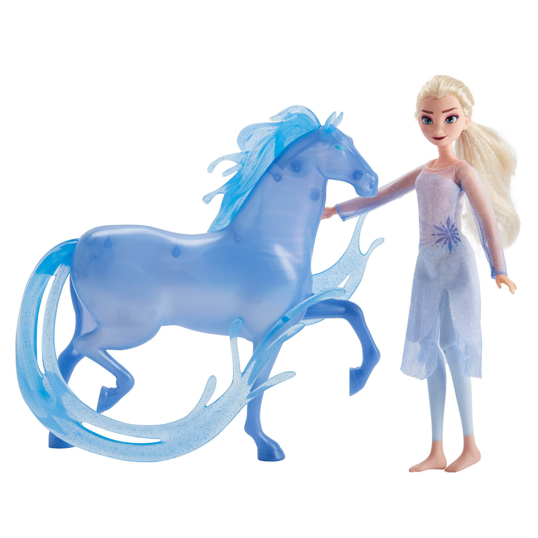 Disney Frozen 2 Elsa Fashion Doll And Nokk Figure Playset Walmart Com Walmart Com