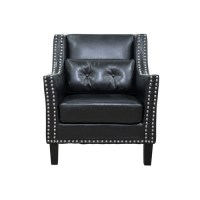 BestMasterFurniture Faux Leather Arm Chair - Walmart.com