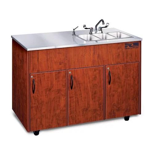 Ozark River Portable Sinks Silver Advantage 48 x 24