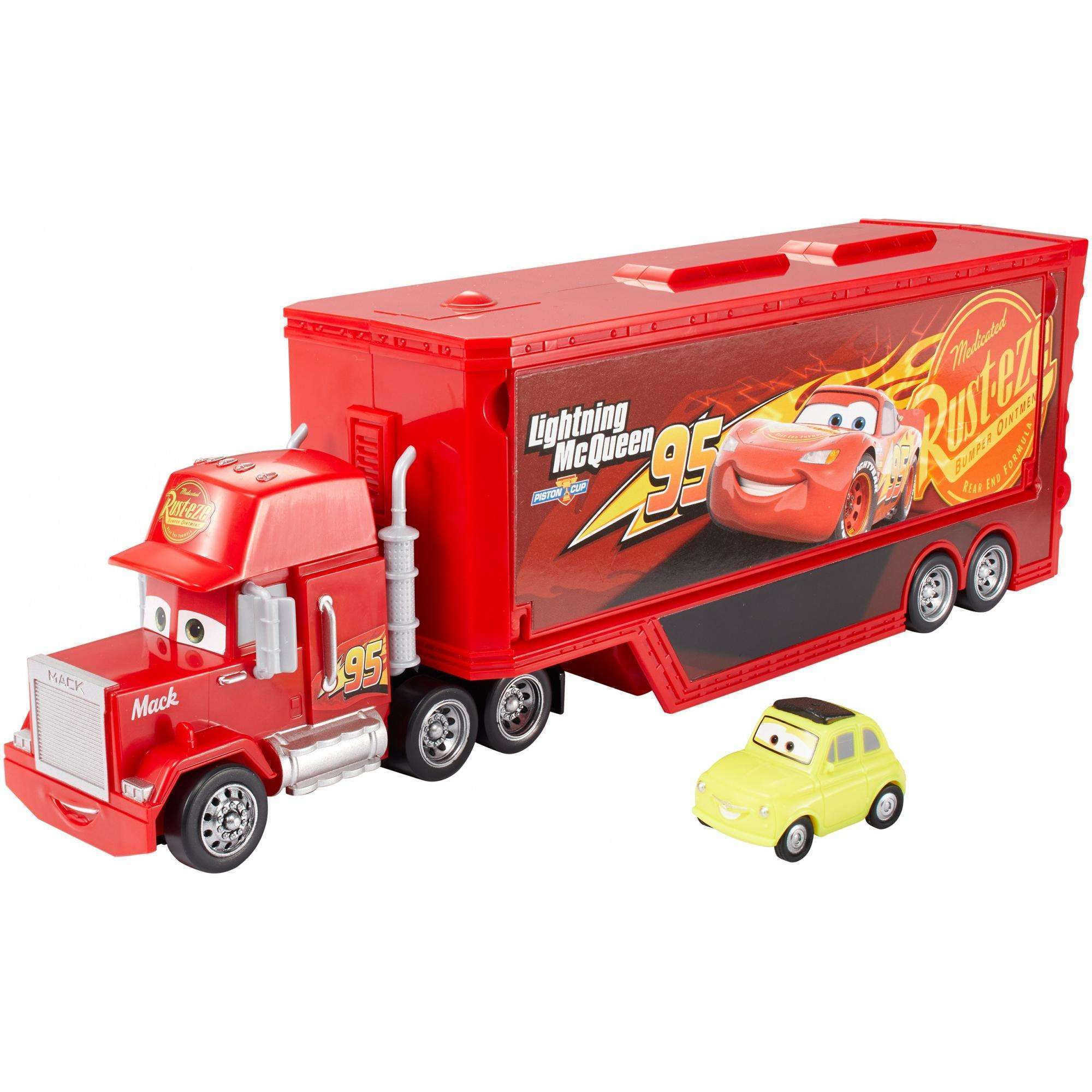 Disney Pixar Cars 3 Travel Time Mack Playset Walmart