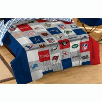 NFL League Twin-Full Comforter Set All Teams Bedding ...