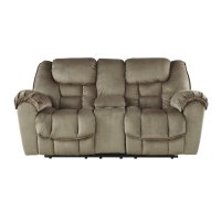 Ashley Jodoca Glider Reclining Loveseat with Console in ...
