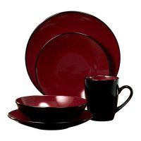 Thomson Pottery Domo 16 Piece Dinnerware Set - Walmart.com
