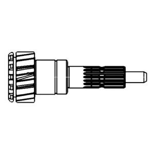 70256571 Input Shaft Transmission Made For Allis Chalmers