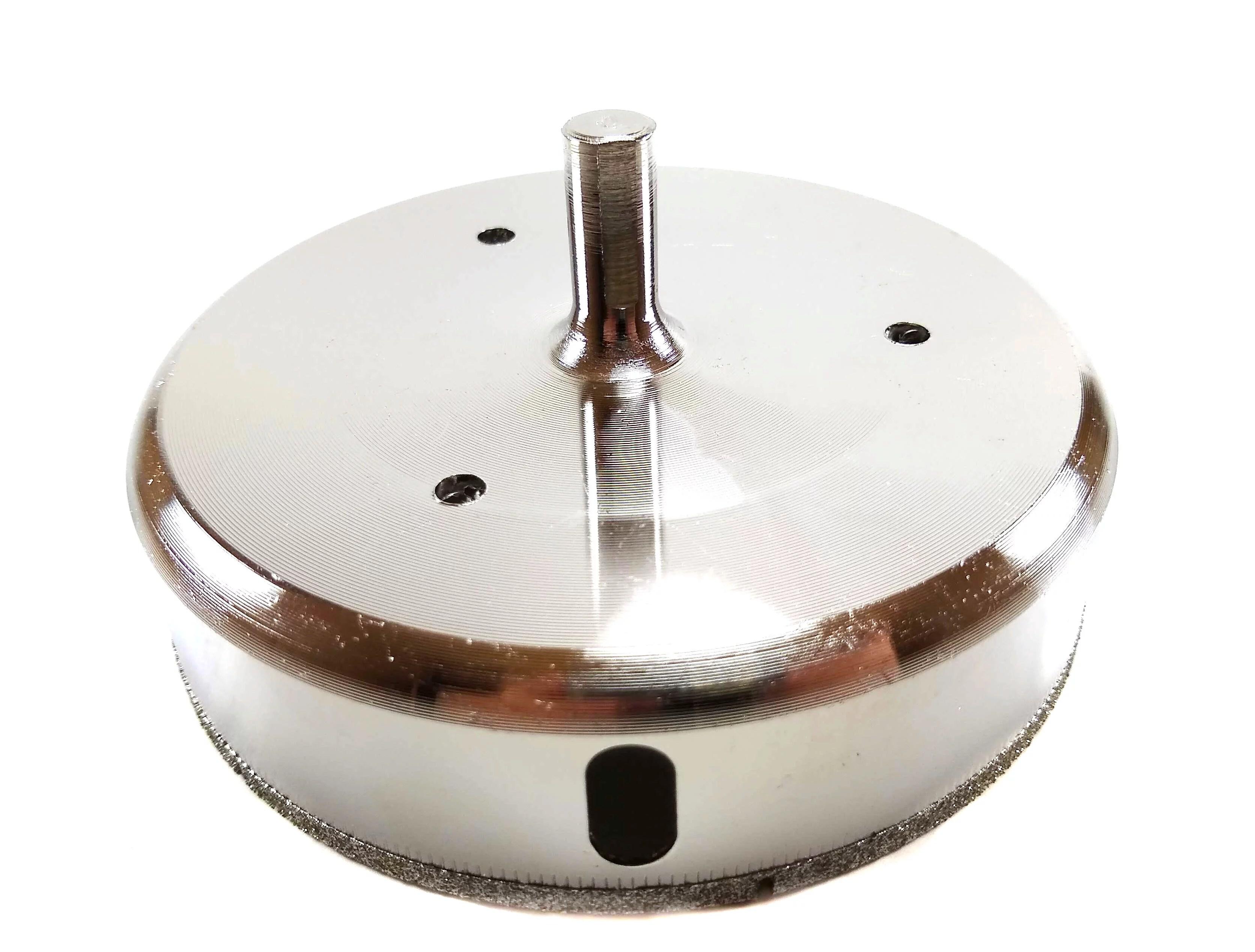 4 1 2 inch diamond hole saw diamond tipped porcelain tile ceramic glass 4 5 inch hole saw drill bit standard shank easy to use by drilax walmart com