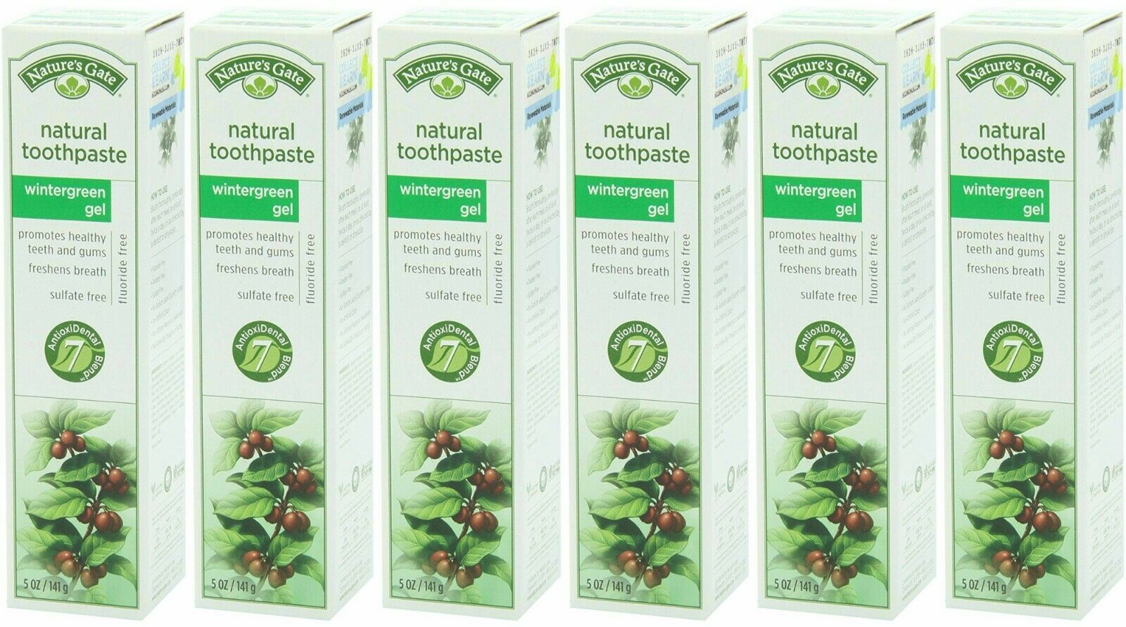 Nature's Gate Natural Toothpaste without Fluoride ...