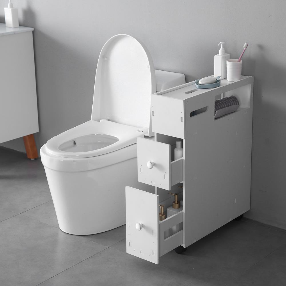 Bathroom Toilet Cabinets Zimtown Bath Toilet Cabinets Drawers Stand Space Saver Storage Kitchen Bathroom