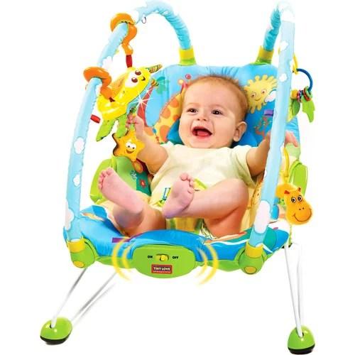 tiny love bouncer chair rattan barrel gymini walmart com