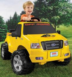 power wheels lil ford f 150 6 volt battery powered ride on walmart com [ 1000 x 1000 Pixel ]