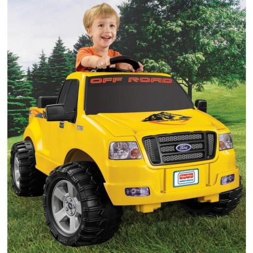 small resolution of power wheels lil ford f 150 6 volt battery powered ride on walmart com