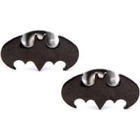Batman Steel Stud Earrings - Walmart.com