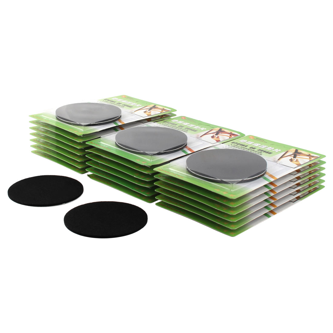Table Round Anti Scratch Furniture Felt Pads Covers