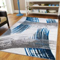 Grey Living Room Area Rugs Photos Of Modern Rooms New Fashion Art Collection Contemporary 5x7 Blue Black Cream Dining Size Bedroom 5x8 On Clearance Walmart Com