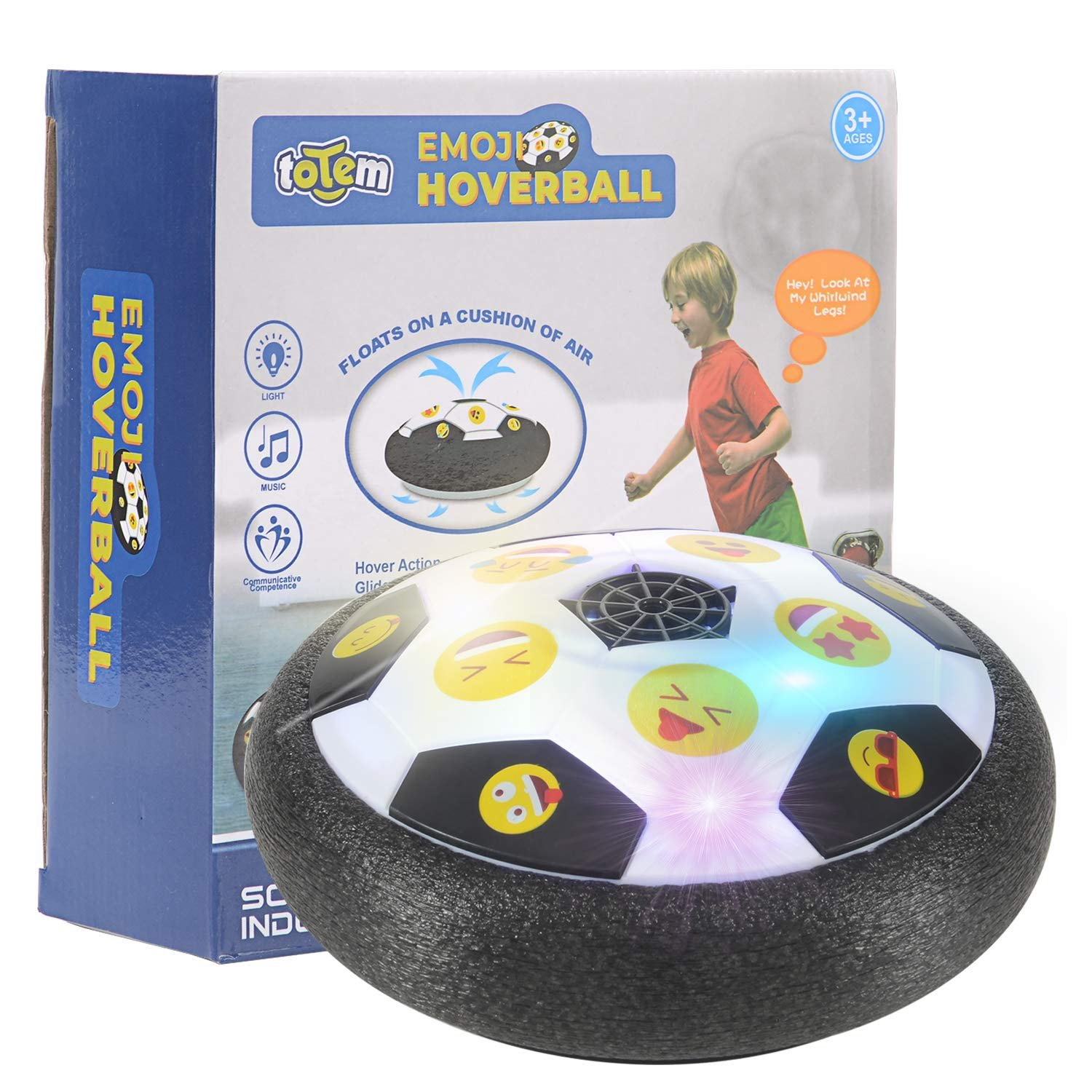 Emoji Hover Ball Toys For Boys Gifts Hover Soccer Ball