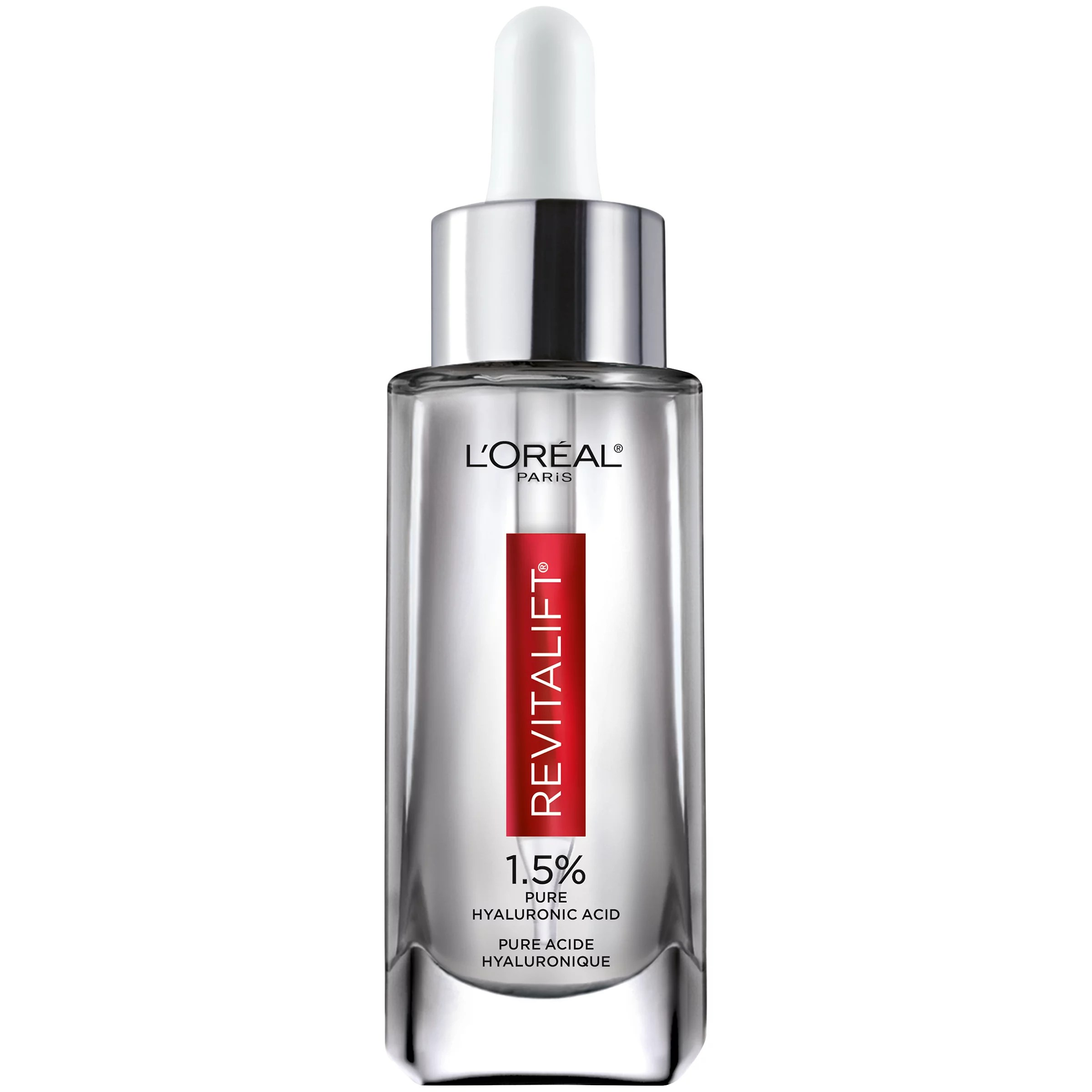 L'Oreal Paris Revitalift Derm Intensives Hyaluronic Acid Face Serum, 1 fl. oz.