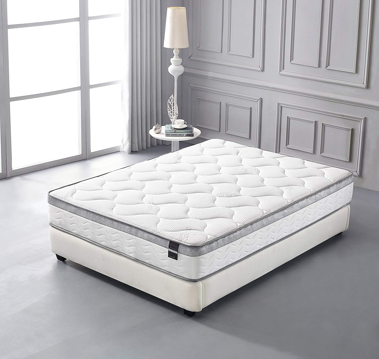 Get your best night's sleep with our huge selection of top brand mattresses to match any sleep style plus adjustable bases, pillows, bedding and more. 10 inch memory foam and spring hybrid full size mattress walmart com