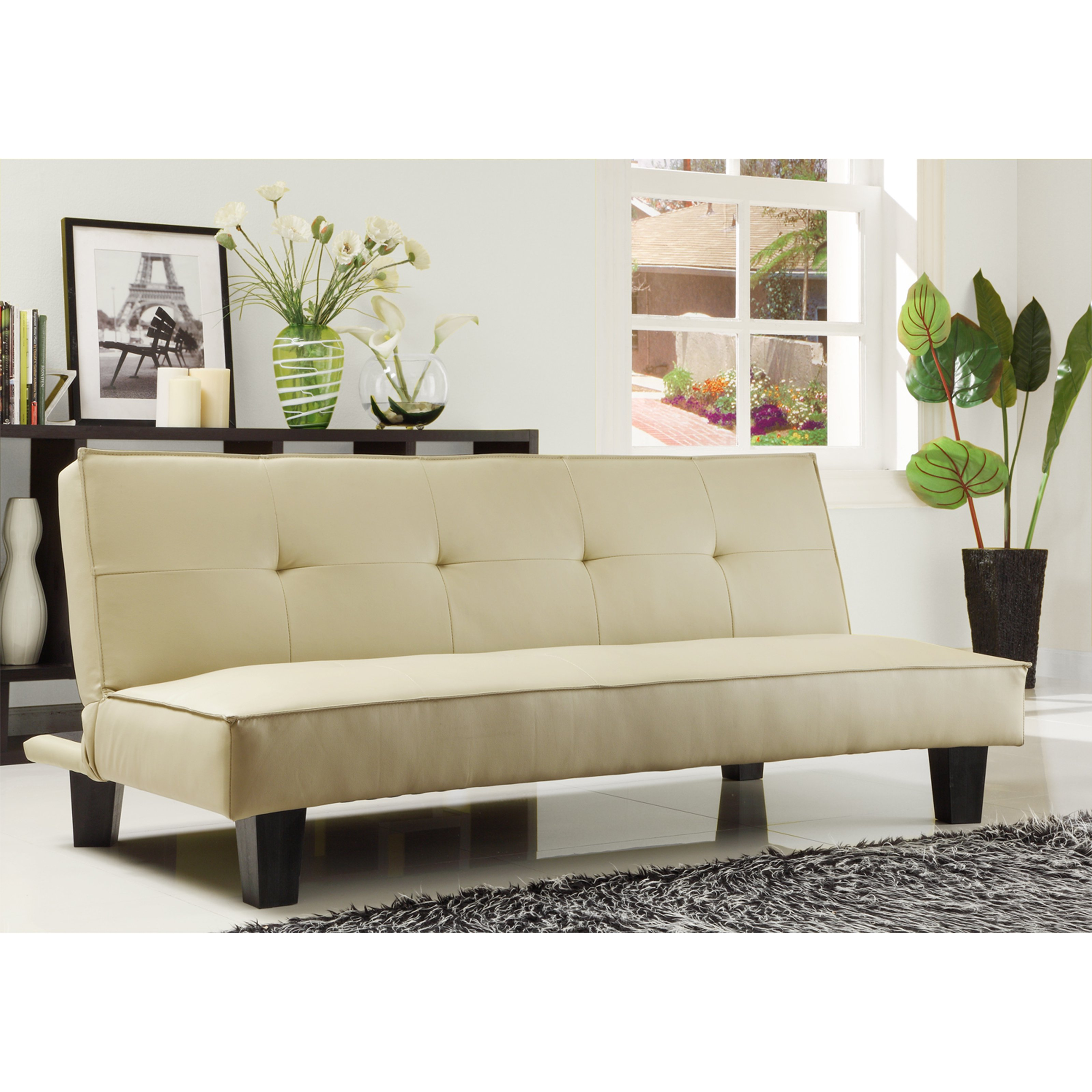 darrin leather sofa reviews full size bi fold futon bed weston home reclining loveseat with console