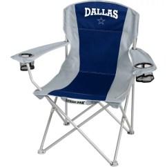 Dallas Cowboys Folding Chairs Pretty Desk Nfl Big Boy Chair Walmart Com