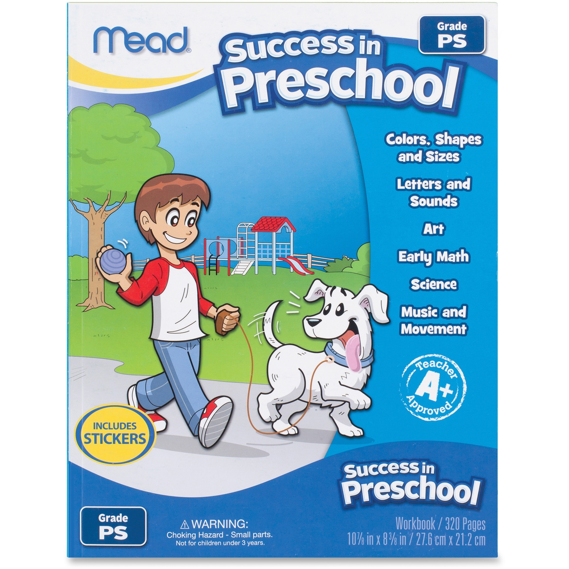 Mead Success In Preschool Workbook 320 Pages