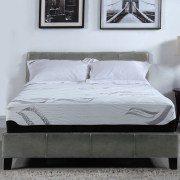 13 Inch Memory Foam With Latex Hybrid Twin Mattress Bamboo Cover