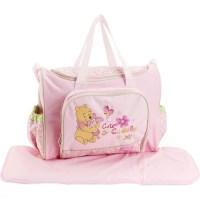 Disney Winnie the Pooh Baby Diaper Bag, Pink