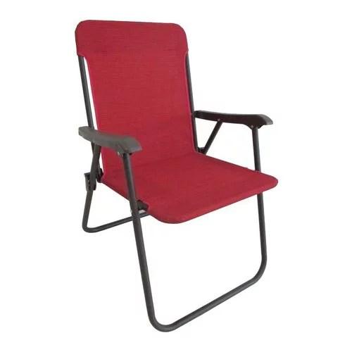 folding yard chair posture modern mainstays fabric red walmart com departments