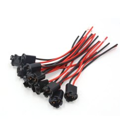 10pcs plastic car t10 light lamp bulb extension wiring harness socket connector walmart com [ 1100 x 1100 Pixel ]