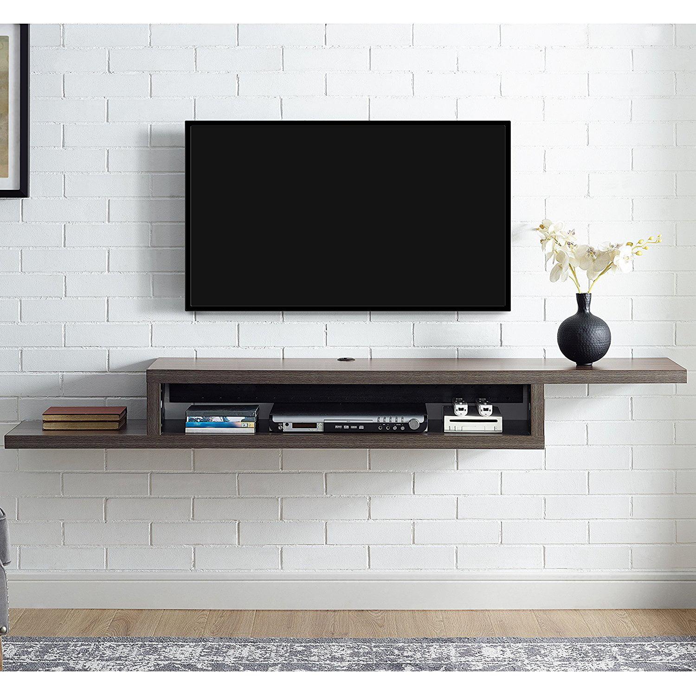 martin furniture 72 in asymmetrical wall mounted tv shelf