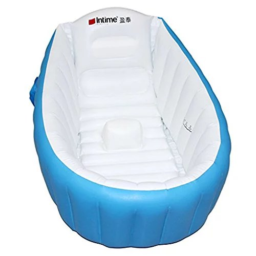 Inflatable Baby Bathtub Kid Infant Toddler Infant Newborn