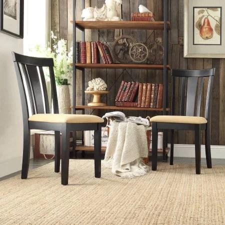 lexington dining chairs stool chair plastic slat back set of 2 walmart com