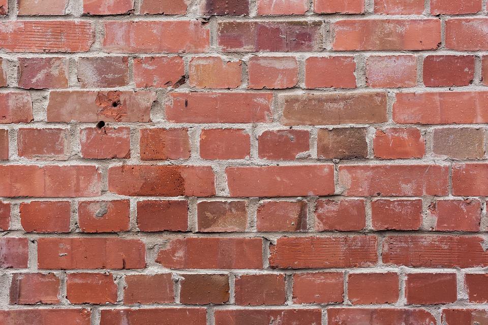 laminated poster brick wall