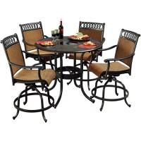 Sunjoy Clifton 5-Piece Outdoor High-Dining Set - Walmart.com