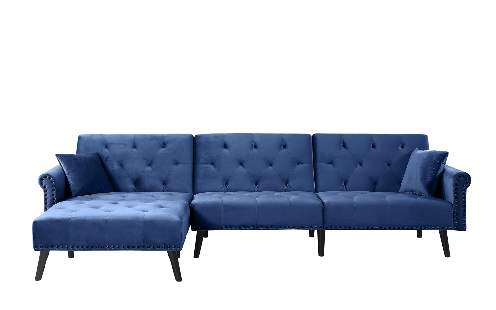 usa made sleeper sofa fabric sectional sofas vancouver velvet cococohome clic chesterfield