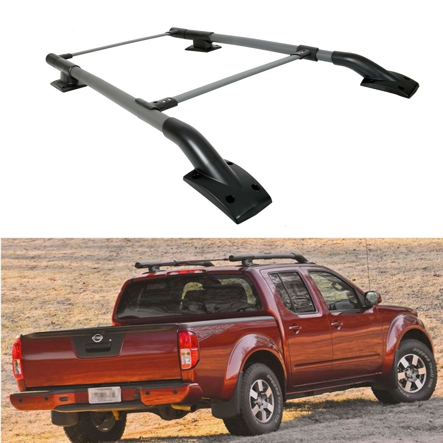 for 05 17 nissan frontier 4dr oe style