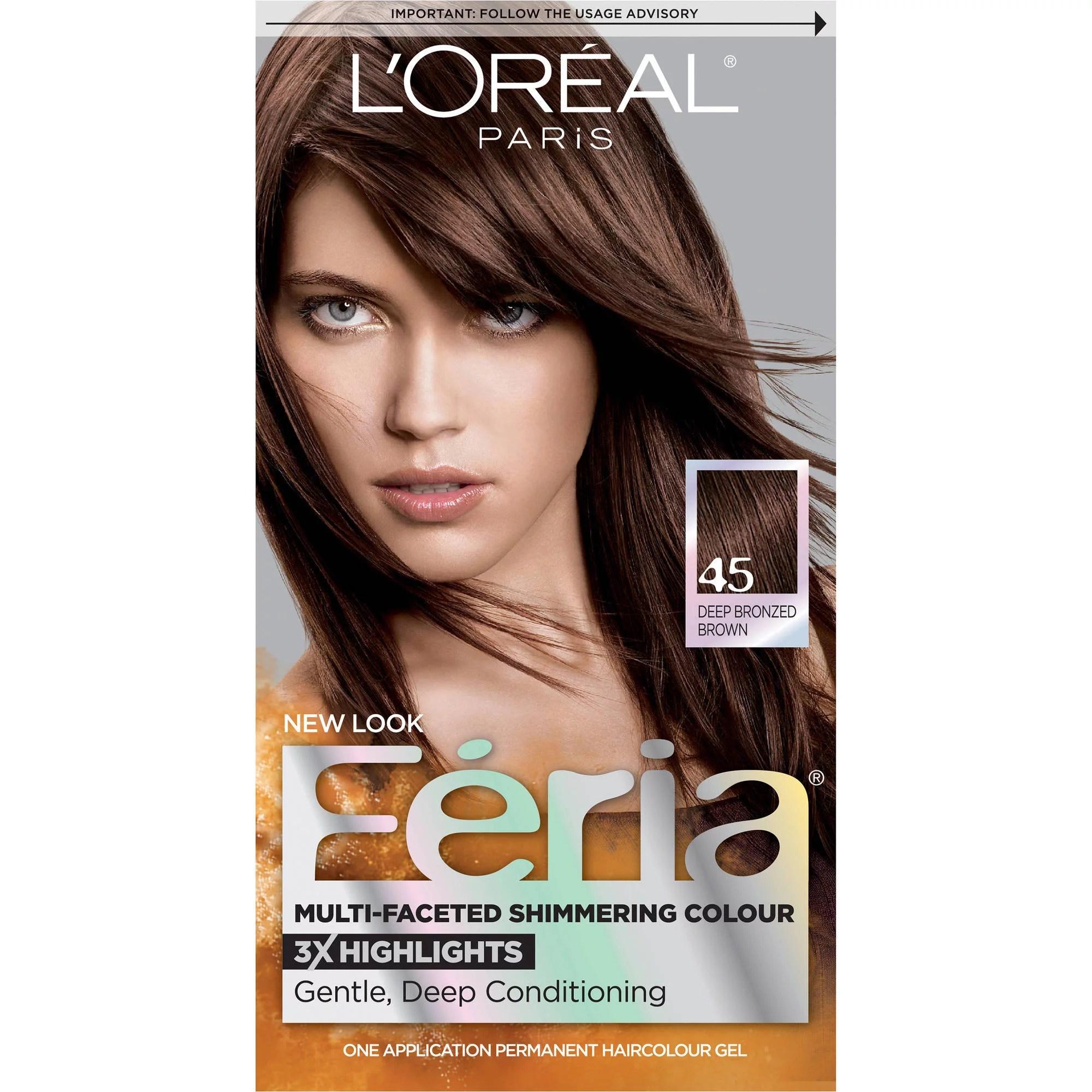Loreal Feria Hair Color Shades